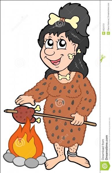 Quel homme préhistorique a commencé à faire de la cuisine ?