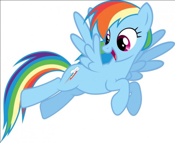 Qui déclare que Rainbow est la meilleure voltigeuse de tout Equestria ?