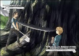 À partir de quel arbre la lame de Kirito fut-elle créée ?