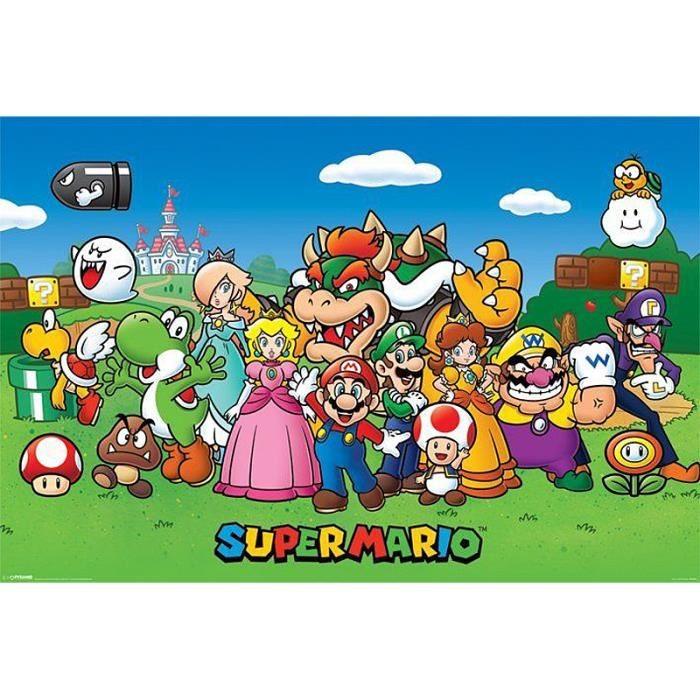 Quel personnage de ''Mario'' es-tu ?