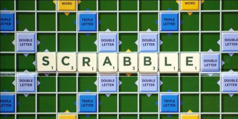 """Pour finir, quels points accumule-t-on avec le mot """"Scrabble"""" ?"""