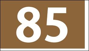 À quel département correspond le numéro 85 ?
