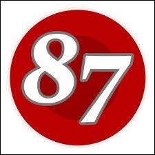 Comment écrit-on le nombre 87 en chiffres romains ?