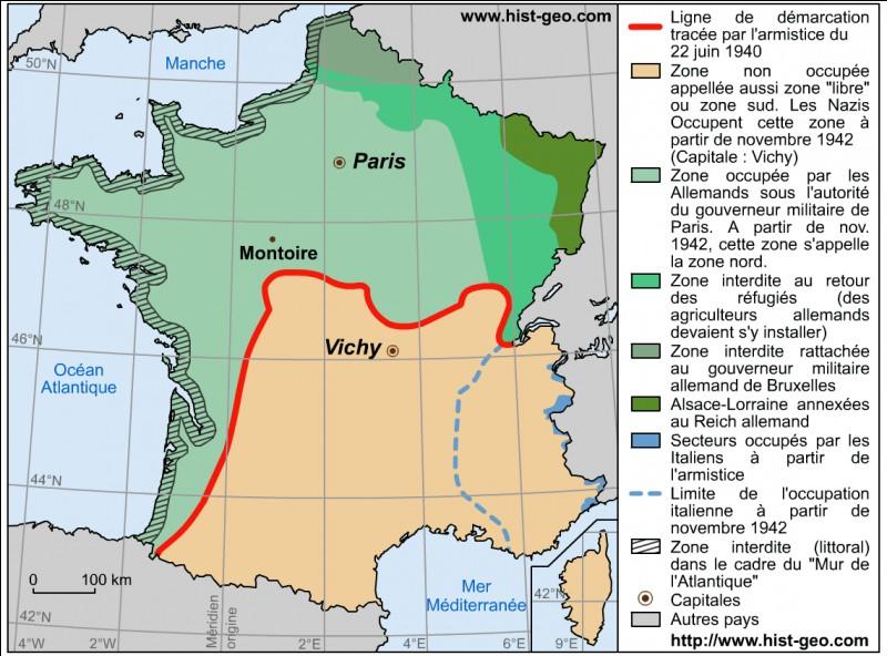 En combien de parties le territoire est-il divisé ?