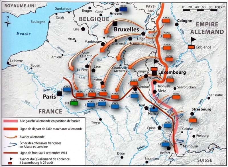 À partir de quel mois et de quelle année la France est envahie par les soldats allemands ?