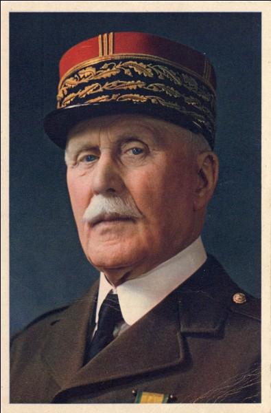 Qui signe l'armistice avec l'Allemagne ?