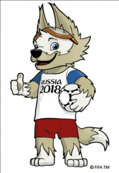 """La mascotte officielle de la Coupe du monde 2018 se nomme """"Zabivata"""" et à les traits d'un ..."""