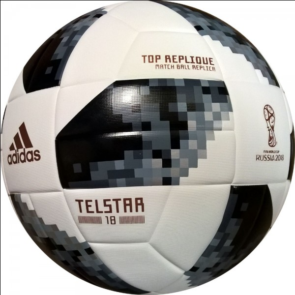 """Quelle est la particularité du """"Telstar 18"""", le ballon officiel de la Coupe du monde 2018 ?"""