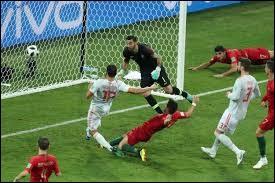 Qui a marqué les 3 buts contre l'Espagne ?
