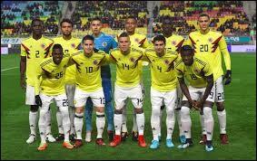 Lequel de ces colombiens a eu un carton rouge ?