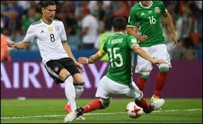 Le Mexique a remporté son match contre l'Allemagne en match de poule. Vrai ou faux ?