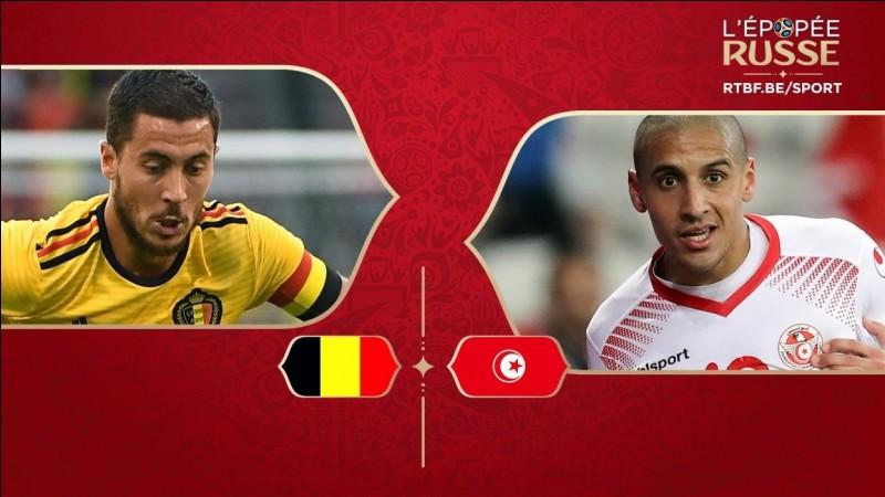 """Quel fut le score du match """"Belgique - Tunisie"""" ?"""