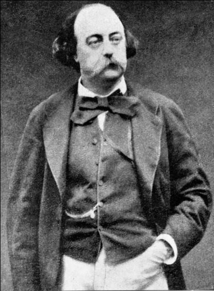 Quelles sont les années de naissance et de mort de Gustave Flaubert ?
