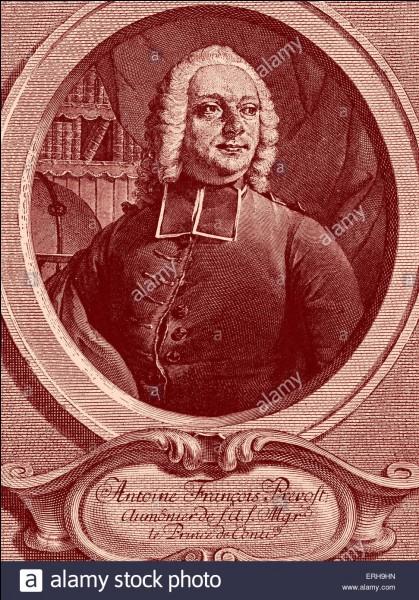 Quelles sont les années de naissance et de mort de l'abbé Antoine François Prévost ?