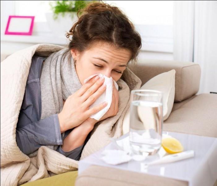 """L'angine est souvent appelée """"influenza"""". Vrai ou faux ?"""