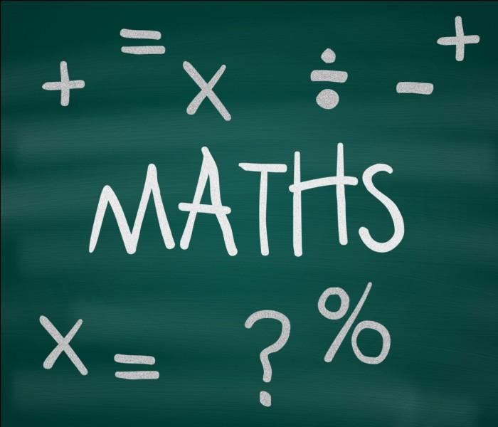Un quotient est le résultat d'une soustraction. Vrai ou faux ?