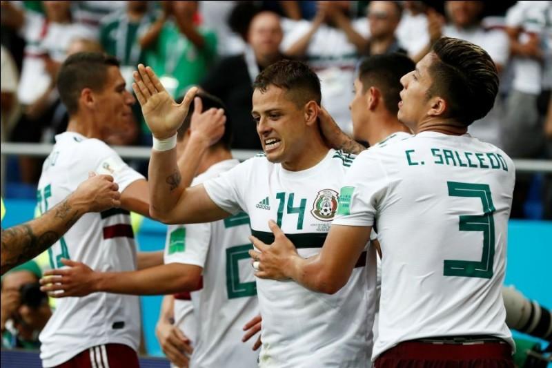 Le Mexique se situe dans quel groupe ?