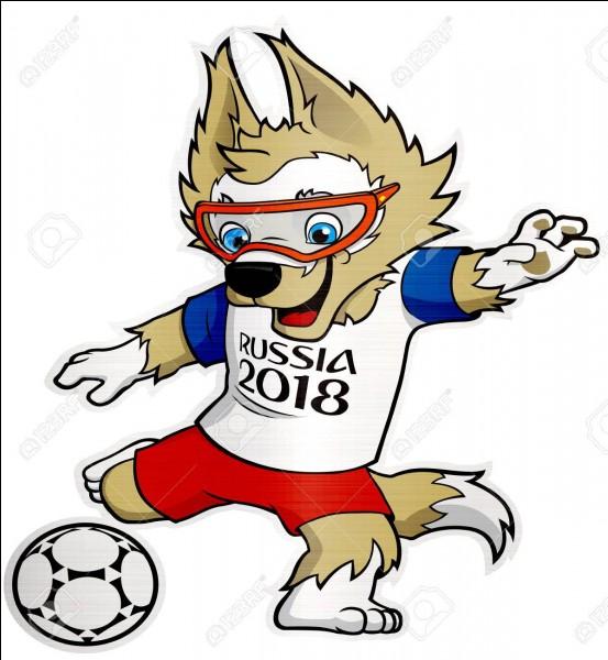 Comment s'appelle la mascotte de la Coupe du monde 2018 ?