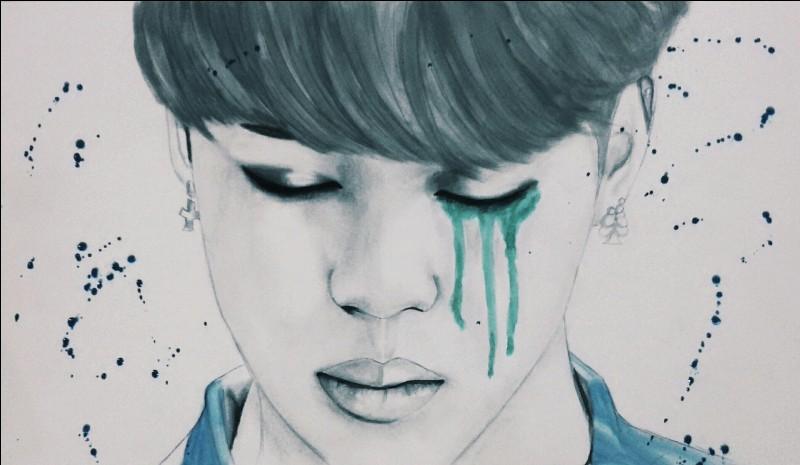 Quel membre de BTS est sur ce dessin ?