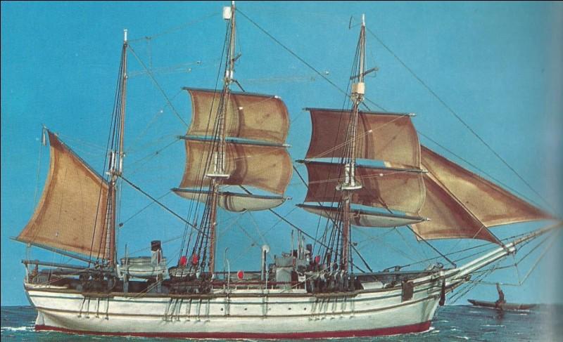 C'est le navire avec lequel Jean Charcot disparut en 1939, c'est le...