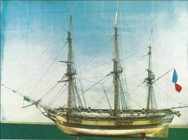 Voici la maquette du bateau de Dumont d'Urville. Quel était son nom ?