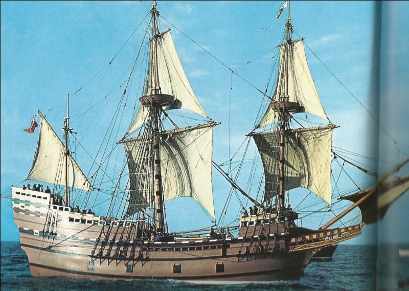 """Ce bateau des """"pères pèlerins"""" a pour nom..."""