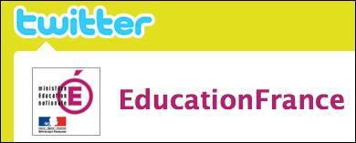 Pourquoi Twiter a-t-il été choisi par le Ministère de l'éducation Nationale comme outil pédagogique?