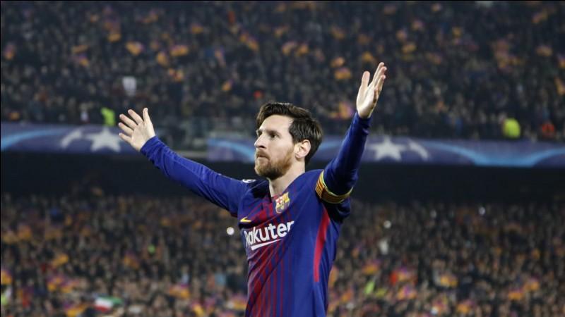 Pour quel pays Messi joue-t-il ?