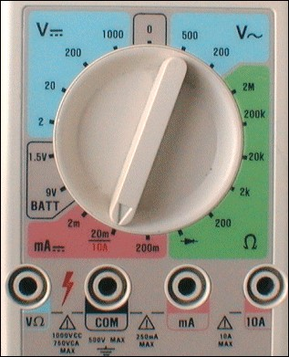 Avec quel appareil peut-on mesurer l'intensité ?