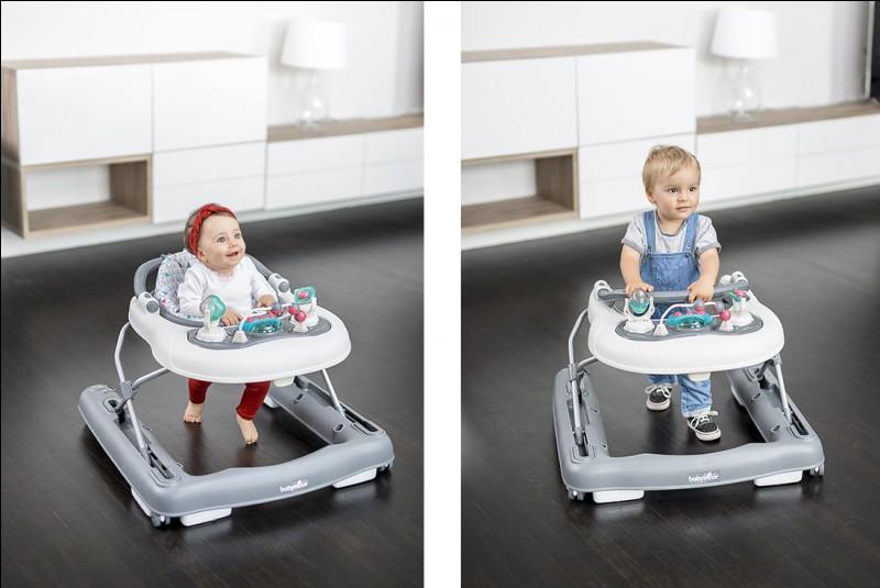 Au Canada, les bébés doivent apprendre à marcher tout seuls, sans l'aide d'un trotteur !