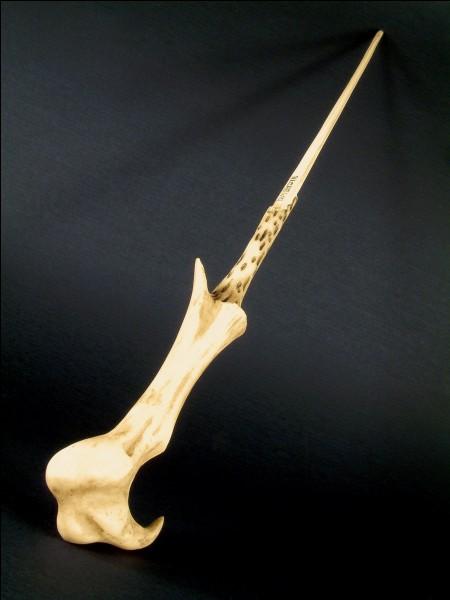 En quel bois est faite la baguette jumelle de celle de Harry ?