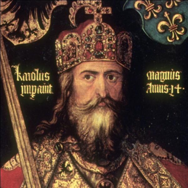 Mais, c'est ce sacré Charlemagne !