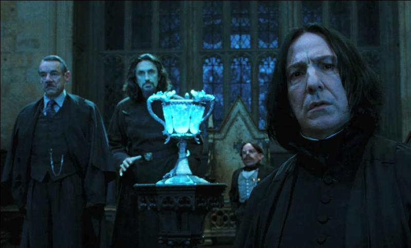 """F. Le tome, dans lequel Ron tombe amoureux de Fleur Delacour, s'intitule en anglais """"The Goblet of (...)"""""""
