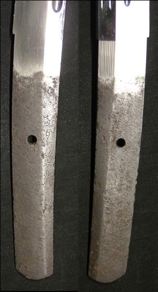 La soie ou partie métallique tenue dans la poignée se nomme :