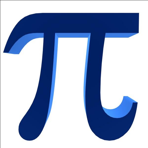 Mathématiques : Sélectionne la valeur de Pi.