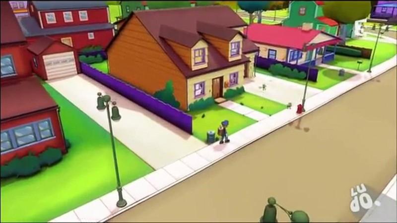 Cette maison est le domicile du personnage principal dans ---.