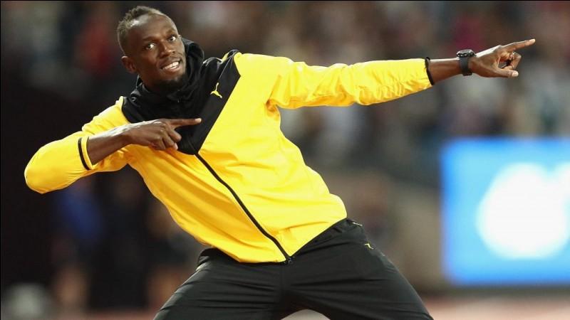 Usain Bolt est le recordman du monde du 100 mètres (entre autres) en 9 s 58. De quel pays est-il originaire ?