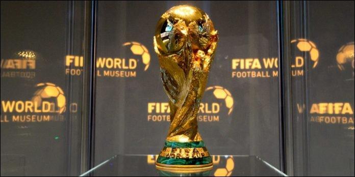 La Coupe du monde de foot a lieu...