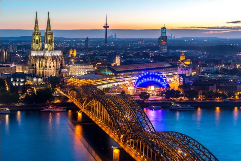 Où se trouve Cologne ?