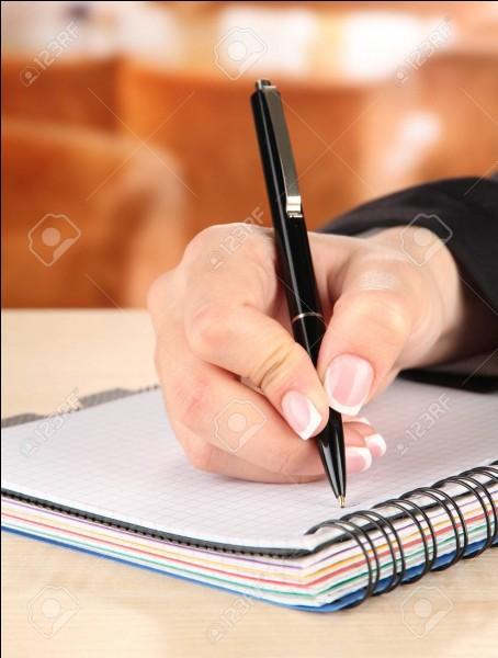 Que disent tes amis de ton écriture ?