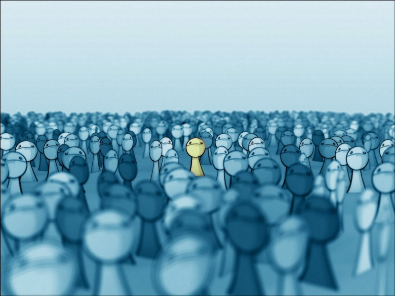 T'arrive-t-il souvent de te sentir différent(e)s des autres ?