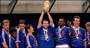 En quelle année la France a-t-elle gagné la Coupe du monde de football ?