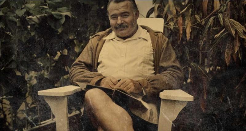 Lequel de ces livres n'est pas d'Ernest Hemingway ?