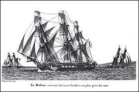 La Méduse est une frégate française devenue célèbre par son naufrage survenu le 2 juillet 1816. Quel artiste peintre s'en est inspiré ?