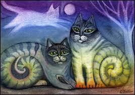 Complétez la citation de Françoise Giroud : On ne possède pas un chat, c'est ... qui vous possède.