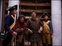 À la fin du film, dans quelle époque Jacquouille et Godefroy se retrouvent-ils piégés ?