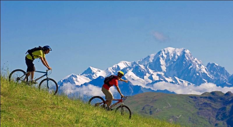 Tu veux découvrir la montagne en roulant, dévaler les chemins et les pistes aménagées. Quel type de vélo prends-tu ?