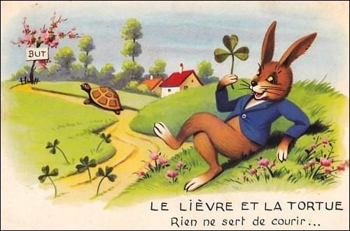 Qui est l'auteur de la fable ''Le Lièvre et la Tortue'' ?