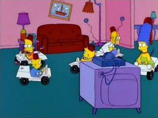 Les Simpsons : Gag du canapé