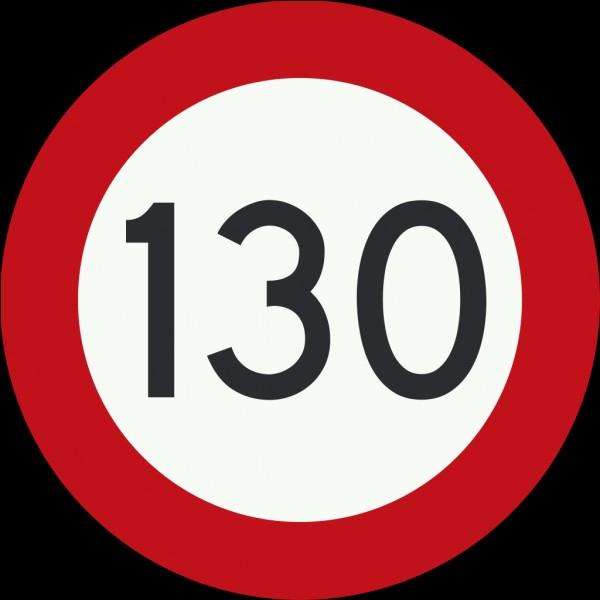 Choisissez l'unité légale pour répondre à cette question : La vitesse sur l'autoroute en France est limitée à ...